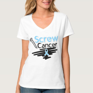 Funny Screw Prostate Cancer Tee Shirt