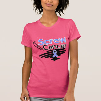 Funny Screw Stomach Cancer Tee Shirt