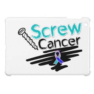 Funny Screw Thyroid Cancer iPad Mini Case