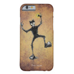 Funny Scribbly Robot Dude Barely There iPhone 6 Case