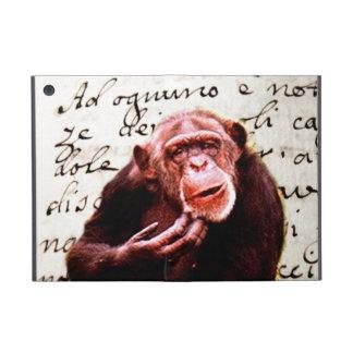 funny scripts Beautiful Jungle Mind Chimpanzees iPad Mini Covers