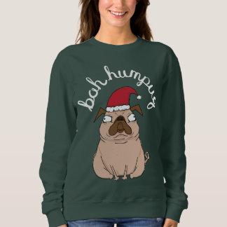 Funny Scrooge Pug Ugly Christmas Sweater
