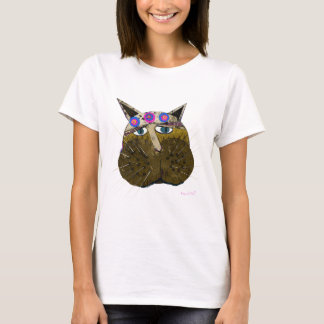 Funny Scruffy Cat gifts and Greetings T-Shirt