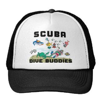 Funny SCUBA Dive Buddy Mesh Hat