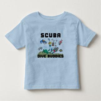 Funny SCUBA Dive Buddy Kids Toddler T-shirt