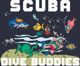funny scuba diver gifts on zazzle