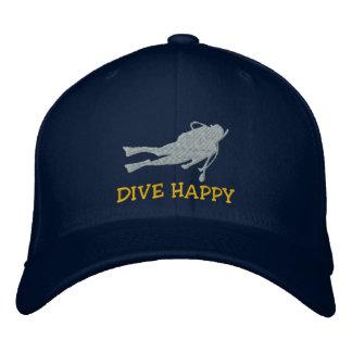 Funny SCUBA Dive Embroidered Cap