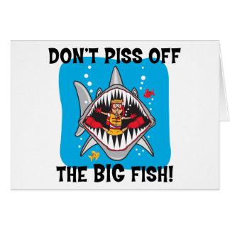Funny SCUBA Diving Card