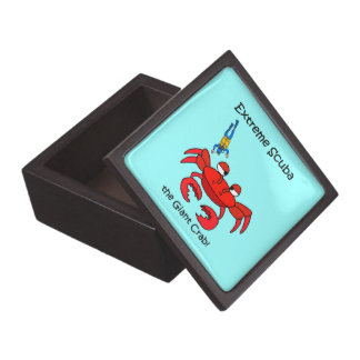funny scuba diving gift box