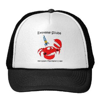 Funny scuba diving trucker hat
