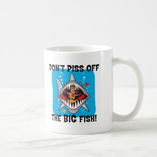 Funny SCUBA Diving Coffee Mugs
