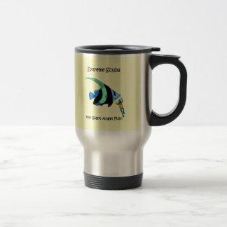 Funny scuba diving travel mug