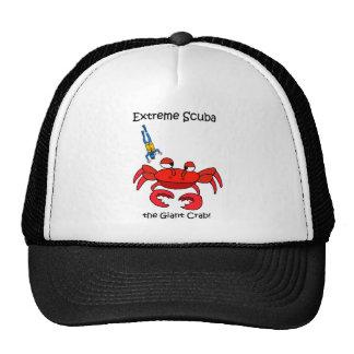 Funny scuba trucker hat