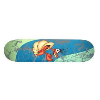 Funny Sea Creature Skateboard Deck