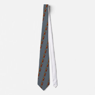Funny Sea Otter Playing Guitar Neck Tie