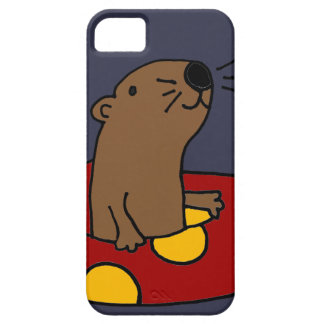 Funny Sea Otter Tubing iPhone SE/5/5s Case