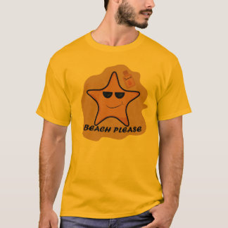 funny sea star tee shirt
