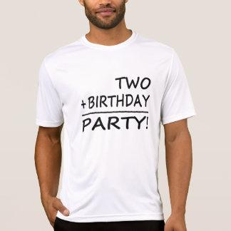 Funny Second Birthdays : Two + Birthday = Party Shirt