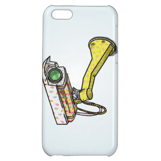 Funny Security Camera iPhone 5C Cover