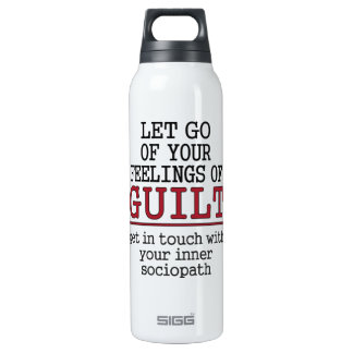 Funny Self-Knowledge custom name thermos Insulated Water Bottle