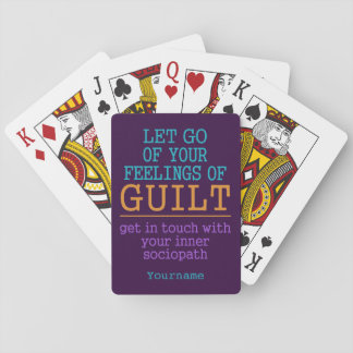 Funny Self-Knowledge playing cards