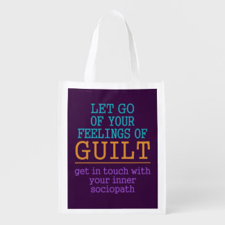 Funny Self-Knowledge reusable bag Market Tote