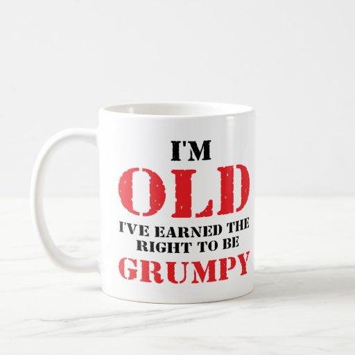 Funny Senior Citizen Gift Coffee Mug