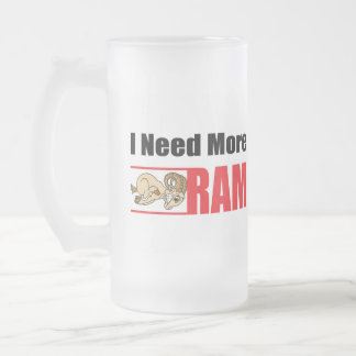 Funny Senior Citizen Gift Frosted Glass Beer Mug