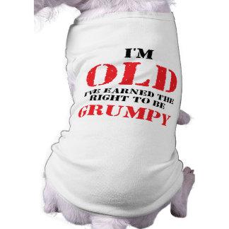 Funny Senior Citizen Gift T-Shirt