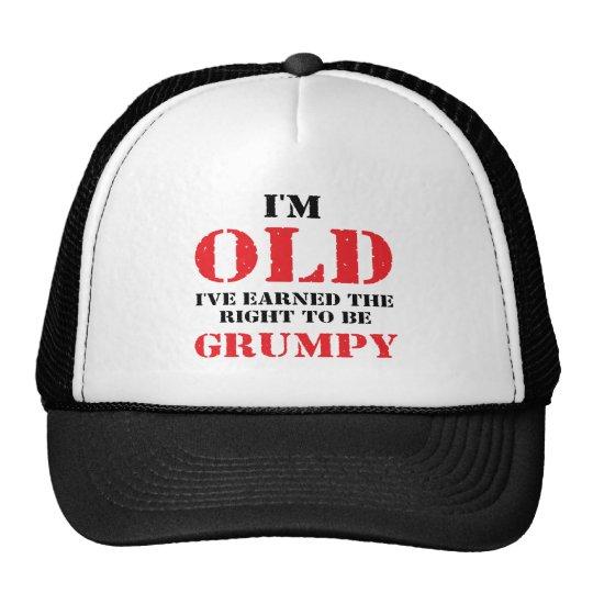 Funny Senior Citizen Gift Trucker Hat