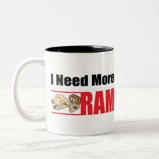 Funny Senior Citizen Gift Two-Tone Coffee Mug