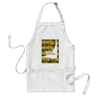 FUNNY Serious Words Positive Negative MATTER SOME Adult Apron