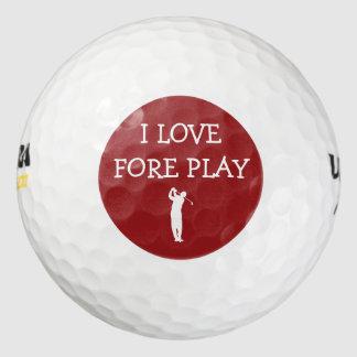 Funny Set Of Golf Balls