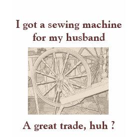 Funny Sewing Machine Arts Crafts T Shirt shirt
