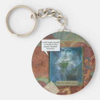 Funny Shakespeare insult quote Keychain