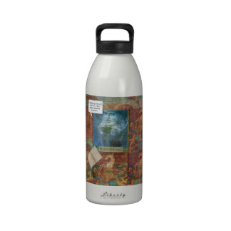 Funny Shakespeare insult quote Drinking Bottle