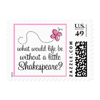 Funny Shakespeare Quote Gift Stamp