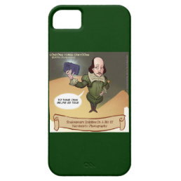 Funny Shakespeare Selfie iPhone 5/5S Case