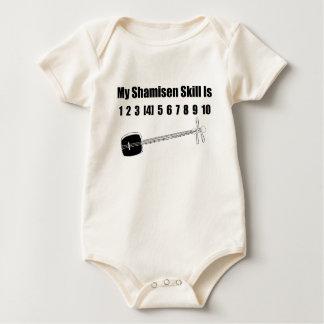 Funny Shamisen Baby Bodysuit
