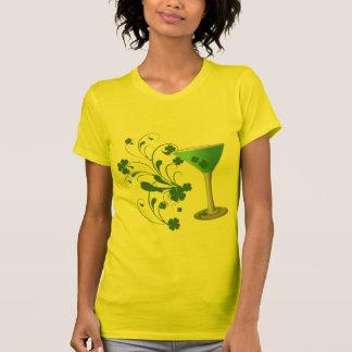Funny Shamrock Martini Shirt