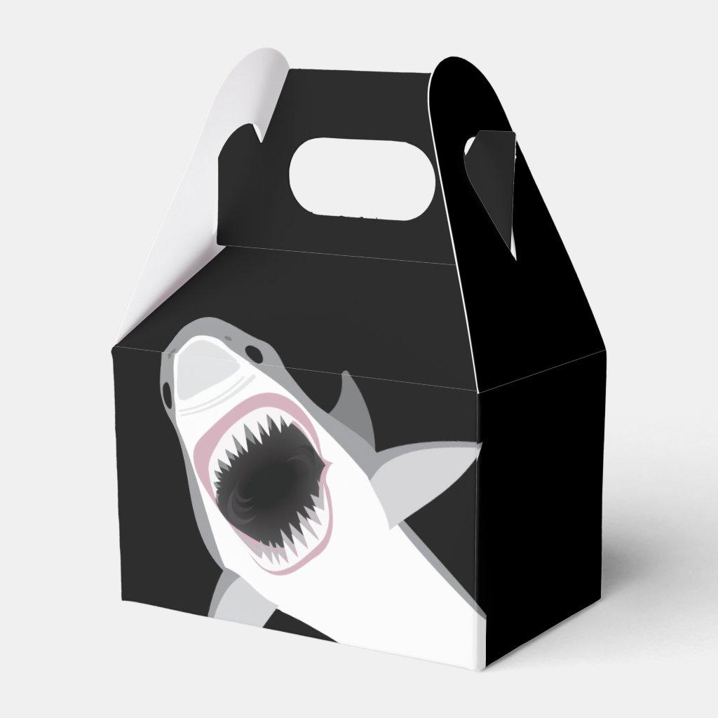 Funny Shark Attack Favor Box