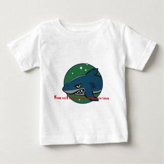 funny shark bad attitude preditor fish gift baby T-Shirt