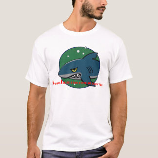 funny shark bad attitude preditor fish gift T-Shirt