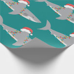 """Funny Shark Extra Large Print Wrapping Paper<br><div class=""""desc"""">Shark enthusiasts will love this humorous wrapping paper. What a jawsome way to say Happy Holidays!</div>"""