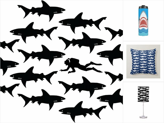 Funny Shark Gifts