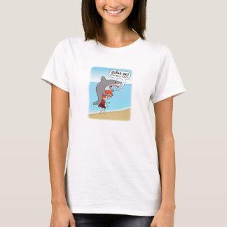 Funny Shark Loves Beach Season T-Shirt