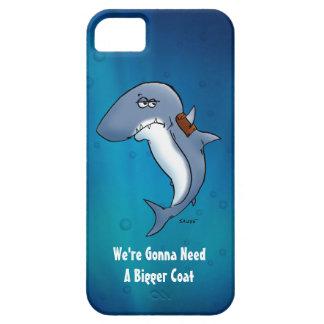 Funny Shark Needs A Bigger Coat iPhone5 Case