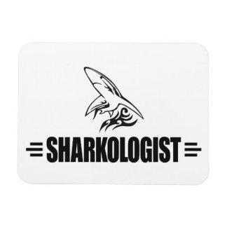 Funny Shark Rectangular Magnet