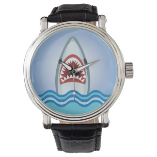 Funny Shark Wrist Watches