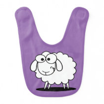 Funny Sheep Baby Bib